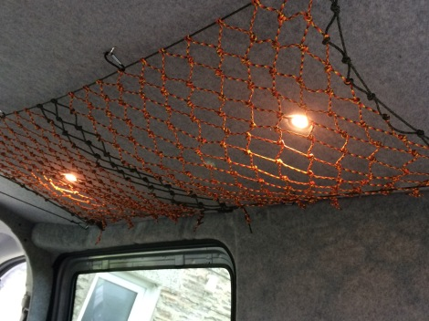Ceiling netting